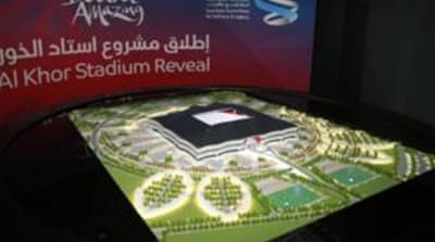 Organisers recently released details of the second stadium that is being built for the World Cup [Reuters]