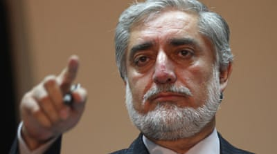 Abdullah was a member of Burhanuddin Rabbani's government during Afghanistan's 1992-1996 civil war [EPA]