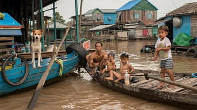 In Pictures: Cambodia's floating villages