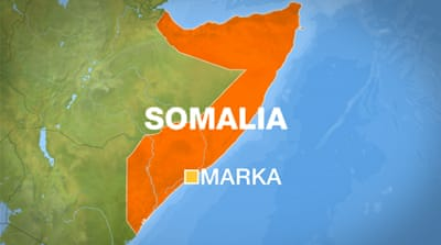 AU soldiers 'fire on Somalia protesters'