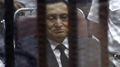 The retrial of Hosni Mubarak began in April 2013 and has been adjourned several times since [AP]