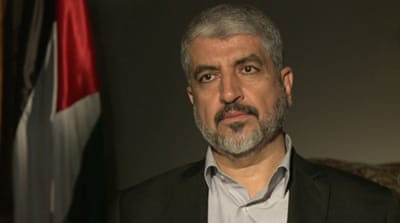 Khaled Meshaal: 'Not a war of choice'