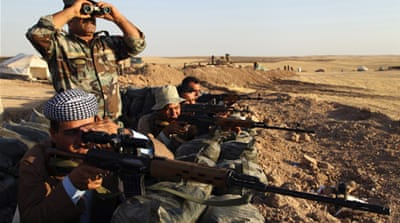 Kurdistan Workers Party (PKK) fighters have joined the fight against the Islamic State group in Iraq. [Reuters]