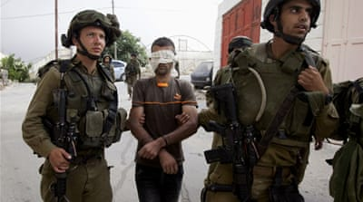 Israel arrested about 1,000 Palestinians in the West Bank during its search for three settler teenagers in June [AP]