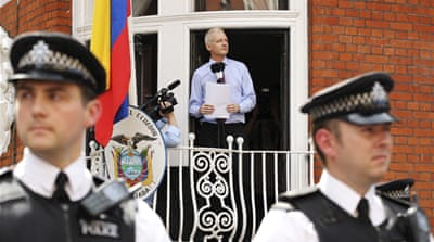 Australian Julian Assange recently said he will leave Ecuador's embassy 'soon' after two years [Reuters]