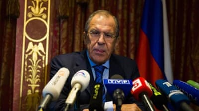 Lavrov also said the Ukrainian forces must pull back from positions where they can hit civilian targets [Reuters]