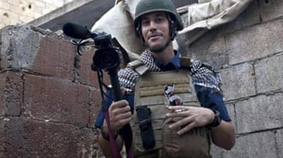 American freelancers Foley and Sotloff are listed among those killed in conflict zones in 2014 [Al Jazeera]