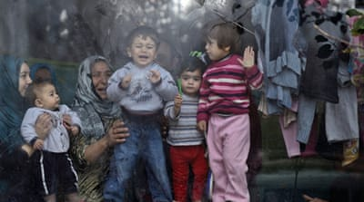 Bulgaria grapples with Mideast refugee surge