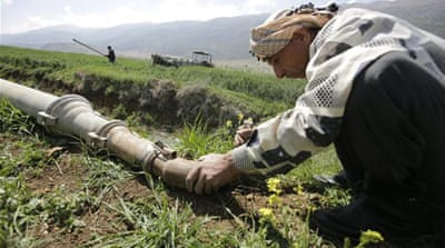 Lebanon sceptical of 'save water' effort