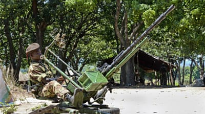 Government forces overran the Renamo camp in the central Gorongosa district in August [AP]