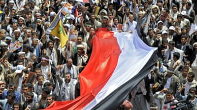 Talks between the Yemeni government and the Houthis have collapsed, leading to fears of fighting in Sanaa [EPA]