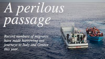 Interactive: A perilous passage