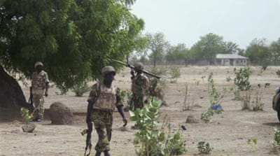 Nigerian solders say they are outgunned by Boko Haram [Reuters]