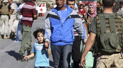 Media reports said the Red Cross managed to evacuate about 30 Syrians with very serious injuries [AFP]