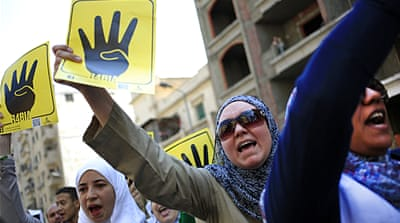 A court banned the Muslim Brotherhood itself in September but did not mention its political wing [AP]