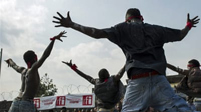 In Pictures: DR Congo's dance battles