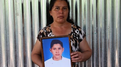 Searching for El Salvador's disappeared
