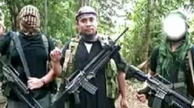 Abu Sayyaf announced support for ISIL and demanded that Germany stop supporting US-led attacks on it [EPA]