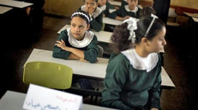 Gaza children back to school after 50-day war