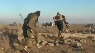 Syria rebels advance near Golan Heights