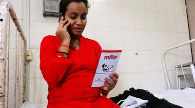Saving India's mothers through mobile phones