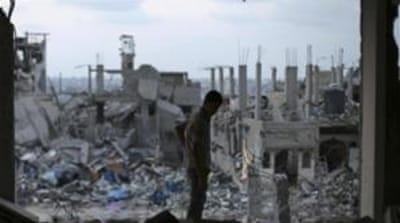 Israeli bombing of the Gaza Strip in July-August turned large areas of the Palestinian enclave to rubble [Reuters]