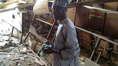 Deaths in attack on Nigeria teachers' college