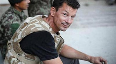 Al Jazeera interviews journalist John Cantlie in 2012