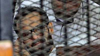 Soltan's case is an example of many detainees in Egyptian prisons held without trial [Reuters]