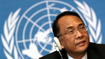 Wibisono is not the first Special Rapporteur unable to enter the occupied territories [Reuters]