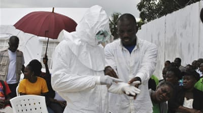 More than 3,000 people have been infected and almost 1,600 people have died from Ebola in Liberia [Reuters]
