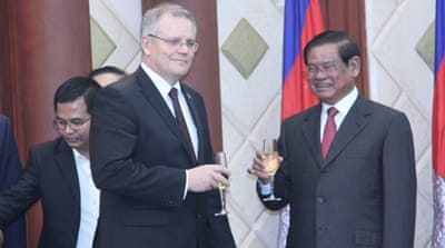 Cambodia and Australia sign refugee deal