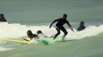 Surf programme offers hope to S Africa youth
