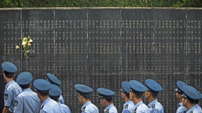 China marks World War Two victory over Japan