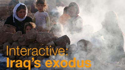 Interactive: Iraq's exodus