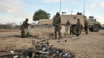 Somali forces, backed by African Union troops, have launched an offensive on al-Shabab's strongholds [AFP]