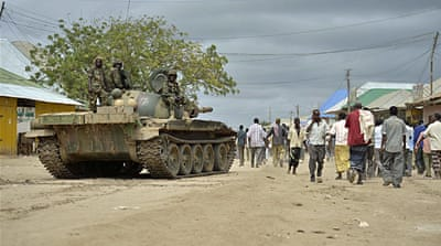 Somalia forces struggle to win people's trust