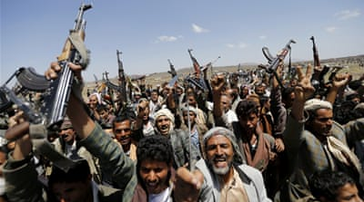 Houthis have besieged Sanaa for over a month and seized key state installations from the government [Reuters]