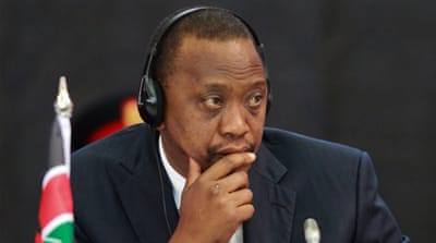 The trial of Kenya's Uhuru Kenyatta over 2007-2008 post-poll violence has been dogged by delays [EPA]