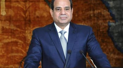 President Sisi had in July said he wished the Al Jazeera journalists had been deported and not put on trial  [Reuters]