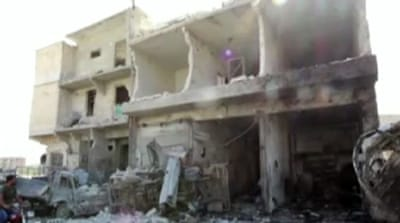 Barrel bombs spell disaster for Aleppo