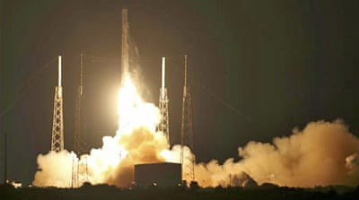 It was the second try this week by SpaceX to launch its Dragon cargo ship [Reuters]
