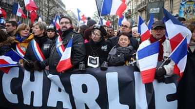 Millions attend unity rallies in France