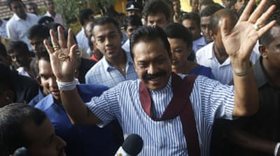 Rajapaksa urged voters to back 'the devil they know' but lost the presidency to Sirisena [Reuters]