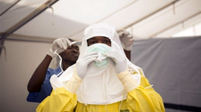 More than 21,000 Ebola cases have been reported globally