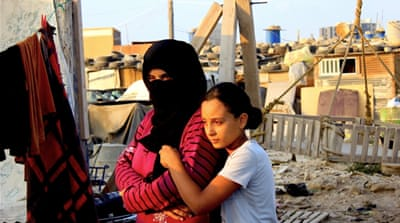 Syrian women and children struggle in Lebanon