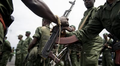 UN and DRC forces prepare for war