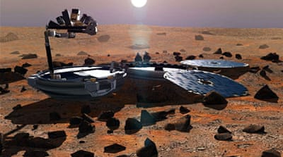 The discovery makes Beagle 2 the first European spacecraft to have landed successfully on Mars [EPA]