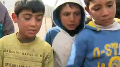 Syrian refugees 'trapped in Arsal'