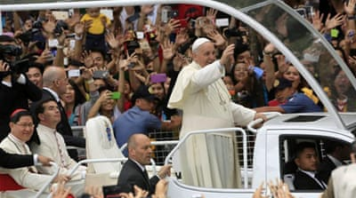 Millions attend pope's Mass in Manila